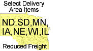 Upper Midwest Reduced Freight Displays
