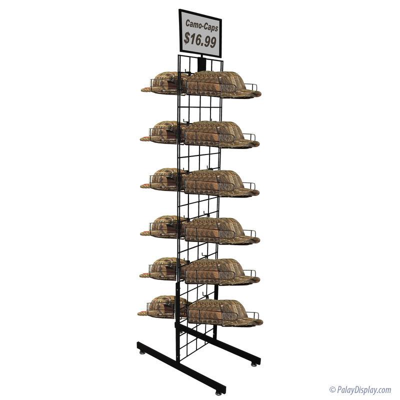 cap rack pdi cap rack tower cap displays