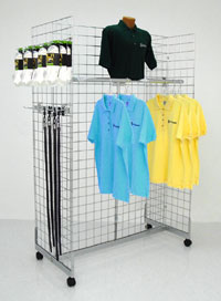 Grid Gondola Merchandiser - 6ft High