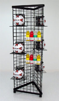 3 Sided Grid Tower - 4ft High