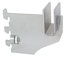 "3"" Rectangular Tube Bracket 1/2"" Slots"