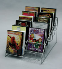 CD Display - CD and DVD Display, 12 Pocket