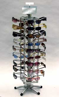Countertop Eyewear Display Spinner- 38 Pair