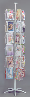 Greeting Card Rack - Large Card - 48 Pocket