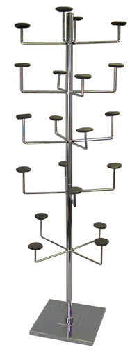 Hat Rack - Stationary Deluxe Hat Tree