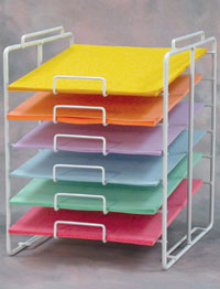 Scrapbook Store Display Fixtures http://www.palaydisplay.com/Paper-Rack-Counter-Paper-Rack-13-W-p-20172.html