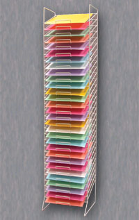 Scrapbook Store Display Fixtures http://www.palaydisplay.com/Paper-Rack-30-Slot-p-20177.html