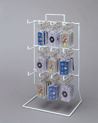 Keychain Display Counter Rack