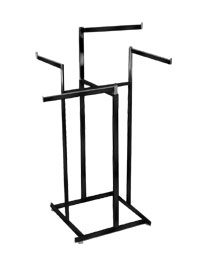 4 Way Rack - Black Finish High Capacity