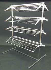 T Style Shoe Display Rack