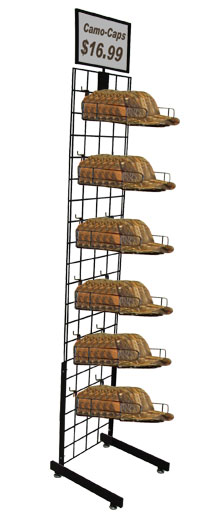 Cap Rack - PDI Single Cap Tower