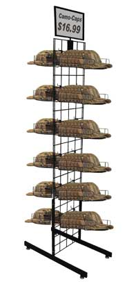 Cap Rack - PDI Double Cap Tower
