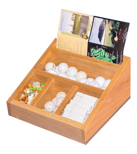 The Pebble Beach Golf Accessory Organizer