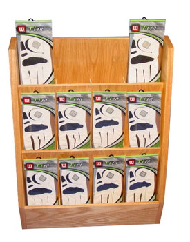 The Columbus Golf Glove Display