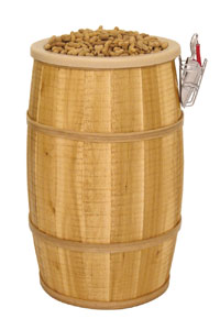 Barrel Display - Rustic