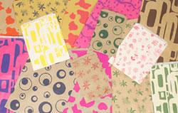 """Random Printed Bags - 6 1/4"""" x 9 1/4"""""""