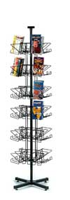 Revolving Rack - Video Floor Spinner Rack