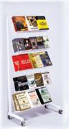 Floor Rack - 5 Shelf Mobile Merchandiser