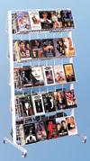 Floor Rack - 10 Shelf Mobile Merchandiser