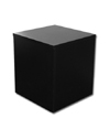 Medium Wood Pedestal - Black