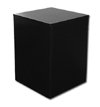 Large Wood Pedestal - Black