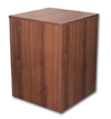 Large Wood Pedestal - Cherry