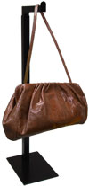 Adjustable Countertop Bag & Purse Display - Black