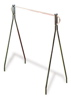 "Garment Rack - Black Beauty Rack 48"" High"