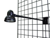 Gridwall Display Light - Black
