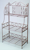Floor Rack - Ornate Stepped Display
