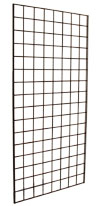 Gridwall Panel 1' x 5' Chrome