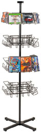 CD Display - CD and DVD Display Spinner Rack