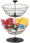 Countertop Dump Bin Spinner Rack