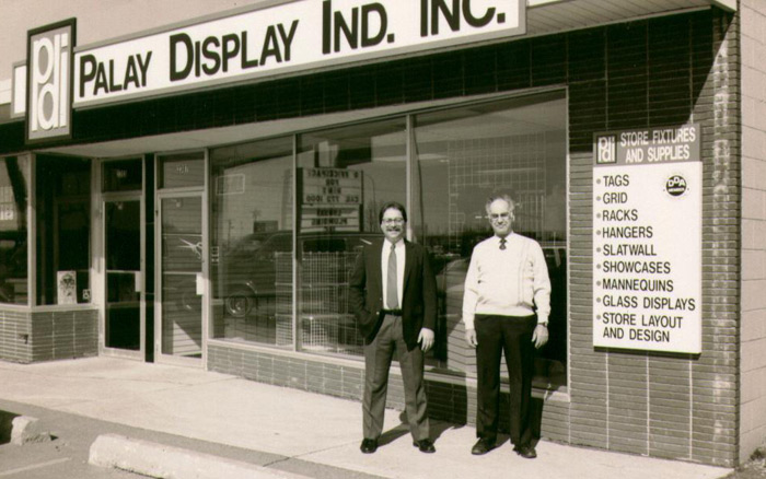 History Of Palay Display Store Fixtures And Retail Displays