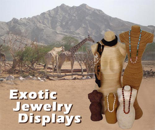 Exotic Jewelry Displays