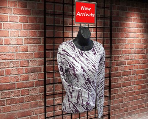 Gridwall Clothing Forms