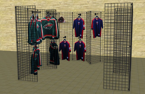 Gridwall mall kiosk displays gridwall booth displays for Portable t shirt display
