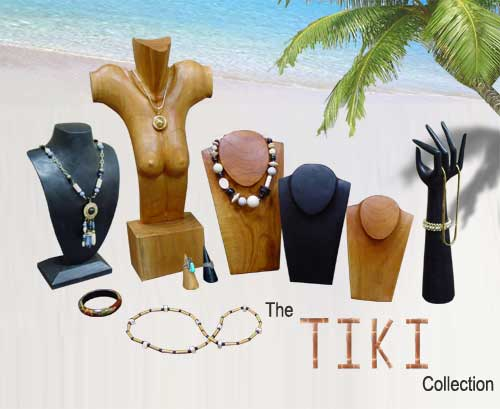 The Tiki Wood Jewelry Collection