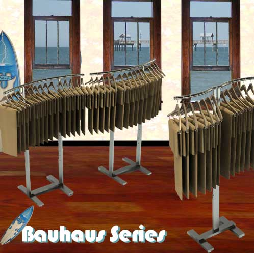 Curved Garment Racks