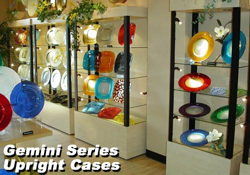 Gemini Upright Display Cases