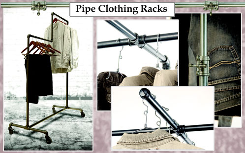 Urban Pipe Clothing Racks