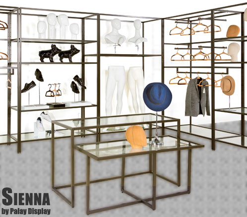 Sienna Patina Bronze Store Display Series