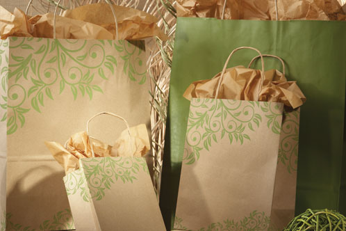 Rainforest Series Shopping Bags