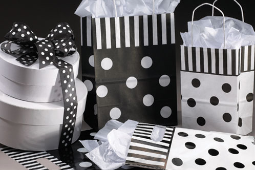 Tuxedo Shopping Bags and Merchandise Bags
