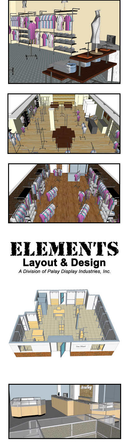 Elements Retail Layout