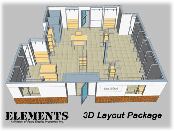 3D Retail Layout